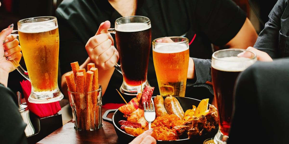 С чем пить пиво?